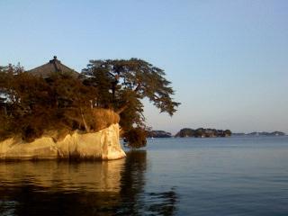 越智初めて松島に立つ!