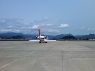CRJ200型を間近で見たよ!