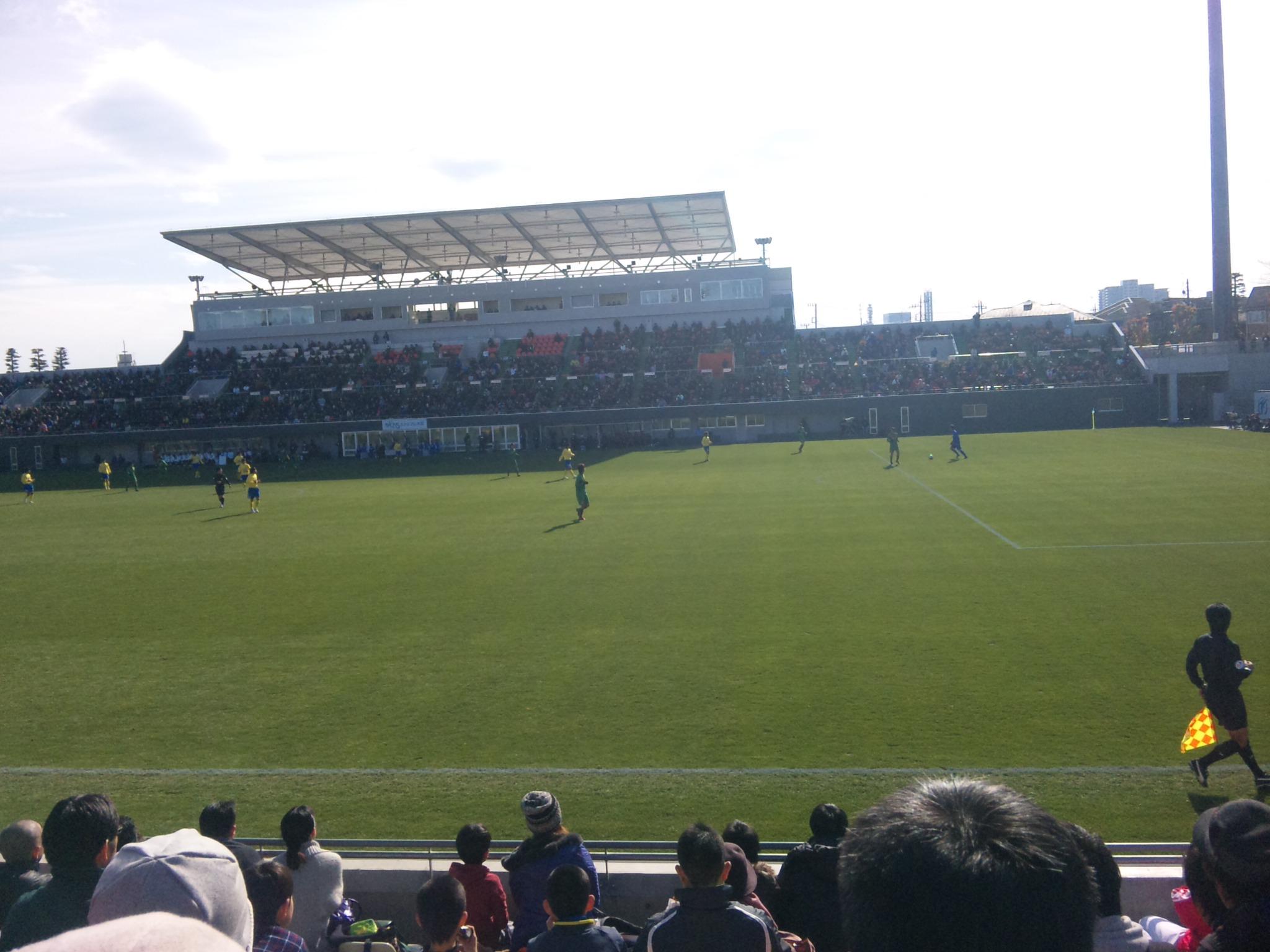 連日のサッカー観戦